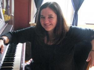 nicole at the piano