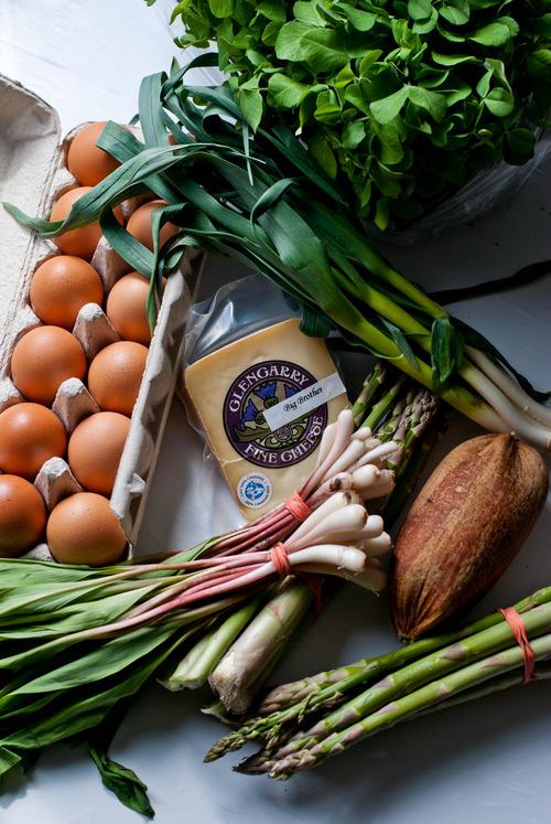 ingredients for farmers' feast