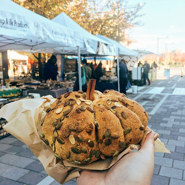 Wow! We love this beautiful autumnal pumpkin bread from House of Pain @yeasty_bo