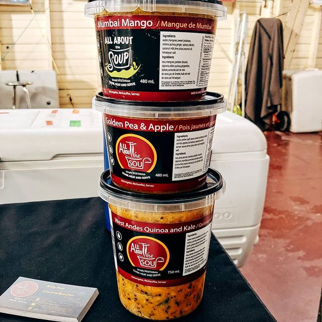 Hi #Ottawa! ICYMI: @all_about_the_soup was our raffle prize on Sunday! So many i