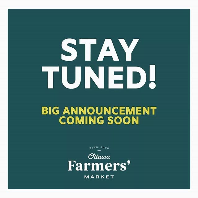 Hi #Ottawa! Keep your eyes peeled for an exciting announcement about our Lansdow