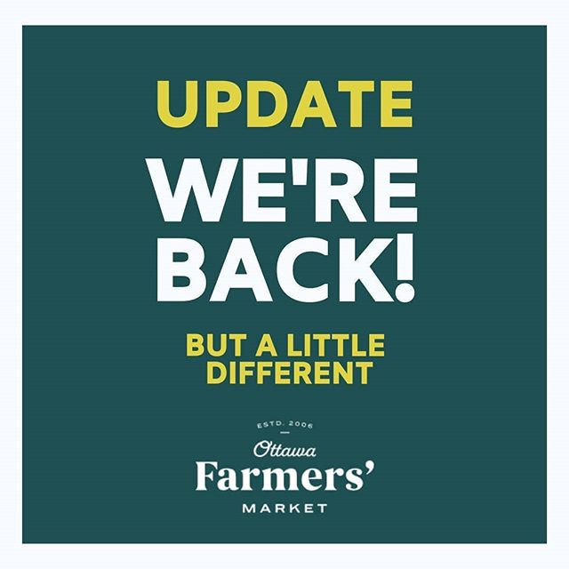 Hi #Ottawa! The moment has arrived for our big reveal! WE'RE BACK!  But, it wi